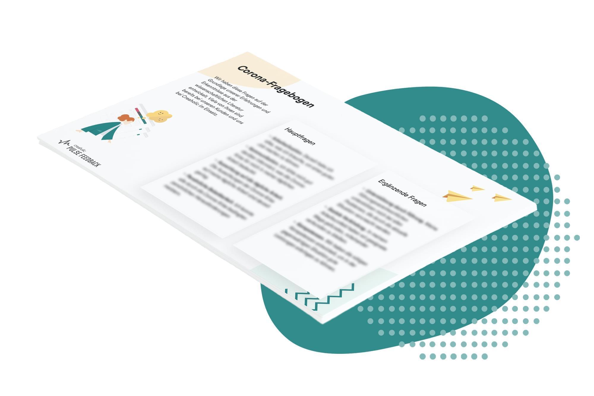 Vorschau des Corona Fragebogens